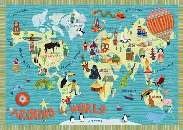 Around the world….