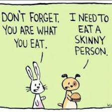 If you are what you eat: What are you?!