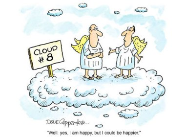 """If """"cloud 9"""" is extremely happy, then what would """"cloud 8"""" be? :)"""