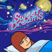 a wish for someone to sleep well and peacefully - to say goodbye at nighttime