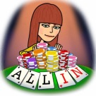 to be all in is to be fully invested in something (can be in poker with your money/chips or in life with a choice)