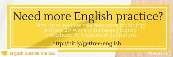 Get even more free resources to improve your English. Sign up here.