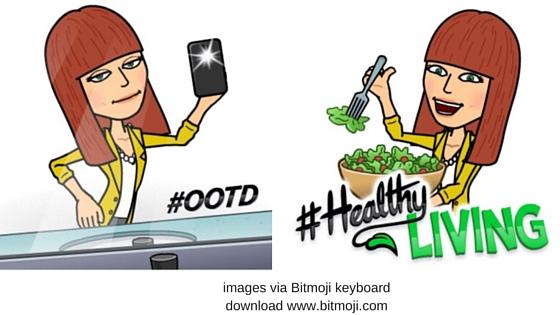 learn english hashtags, popular english words in this free online english lesson using bitmojis